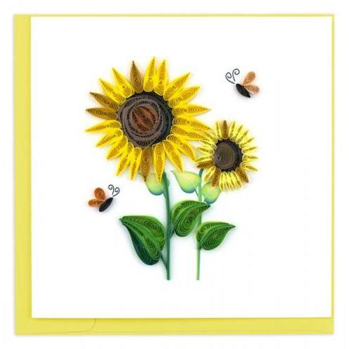 Any Occasion - Quilling Card - Sunflower