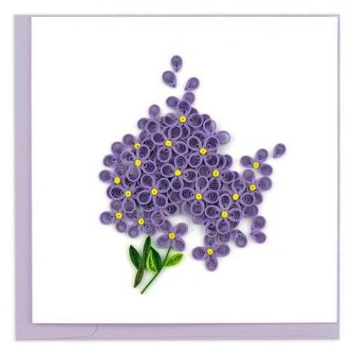 Any Occasion - Quilling Card - Lilac