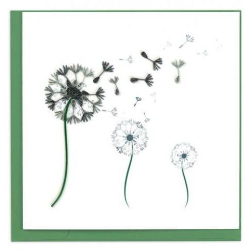 Any Occasion - Quilling Card - Dandelion