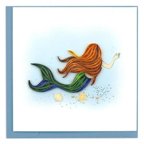 Any Occasion - Quilling Card - Mermaid