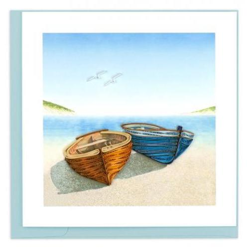Any Occasion - Quilling Card - Boats