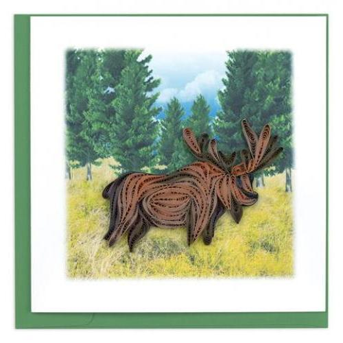 Any Occasion - Quilling Card - Moose