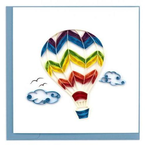 Any Occasion - Quilling Card - Hot Air Balloon