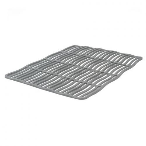 Sink Protector Mat Silicone - Dark Grey 16.5in X 12in