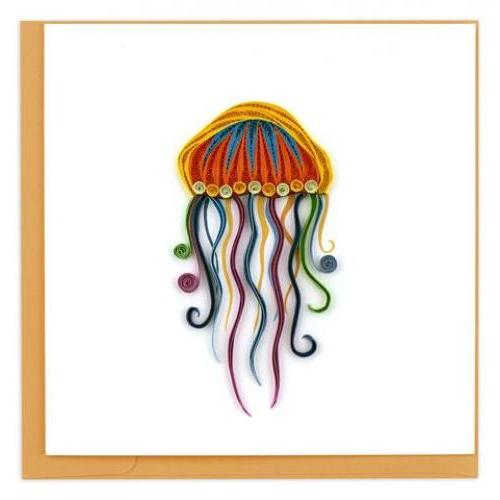 Any Occasion - Quilling Card - Jellyfish
