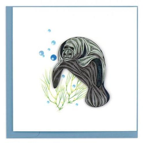 Any Occasion - Quilling Card - Manatee