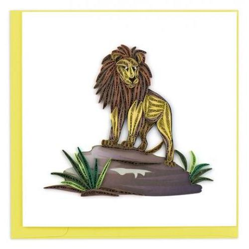 Any Occasion - Quilling Card - Lion