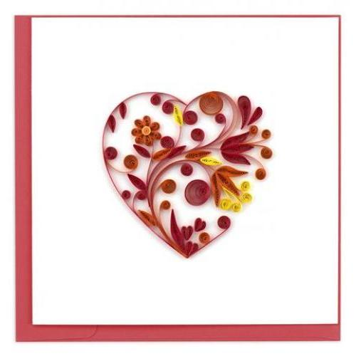 Any Occasion - Quilling Card - Heart