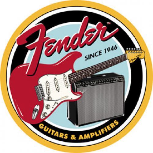 Tin Sign - Circle Fender