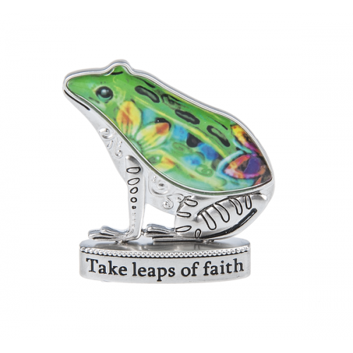Pocket Charm Frog Take Leaps Of Faith