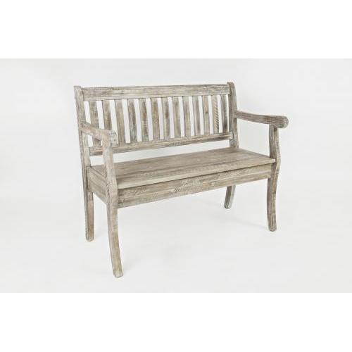 Artisans Craft Storage Bench Washed Grey
