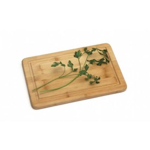 Cutting Board Bamboo Grooved Medium