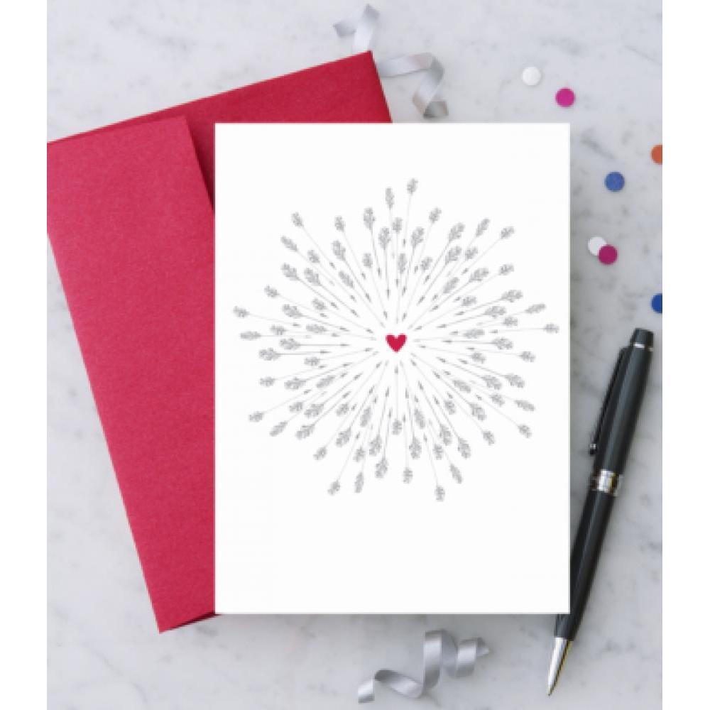Love - Bullseye Heart