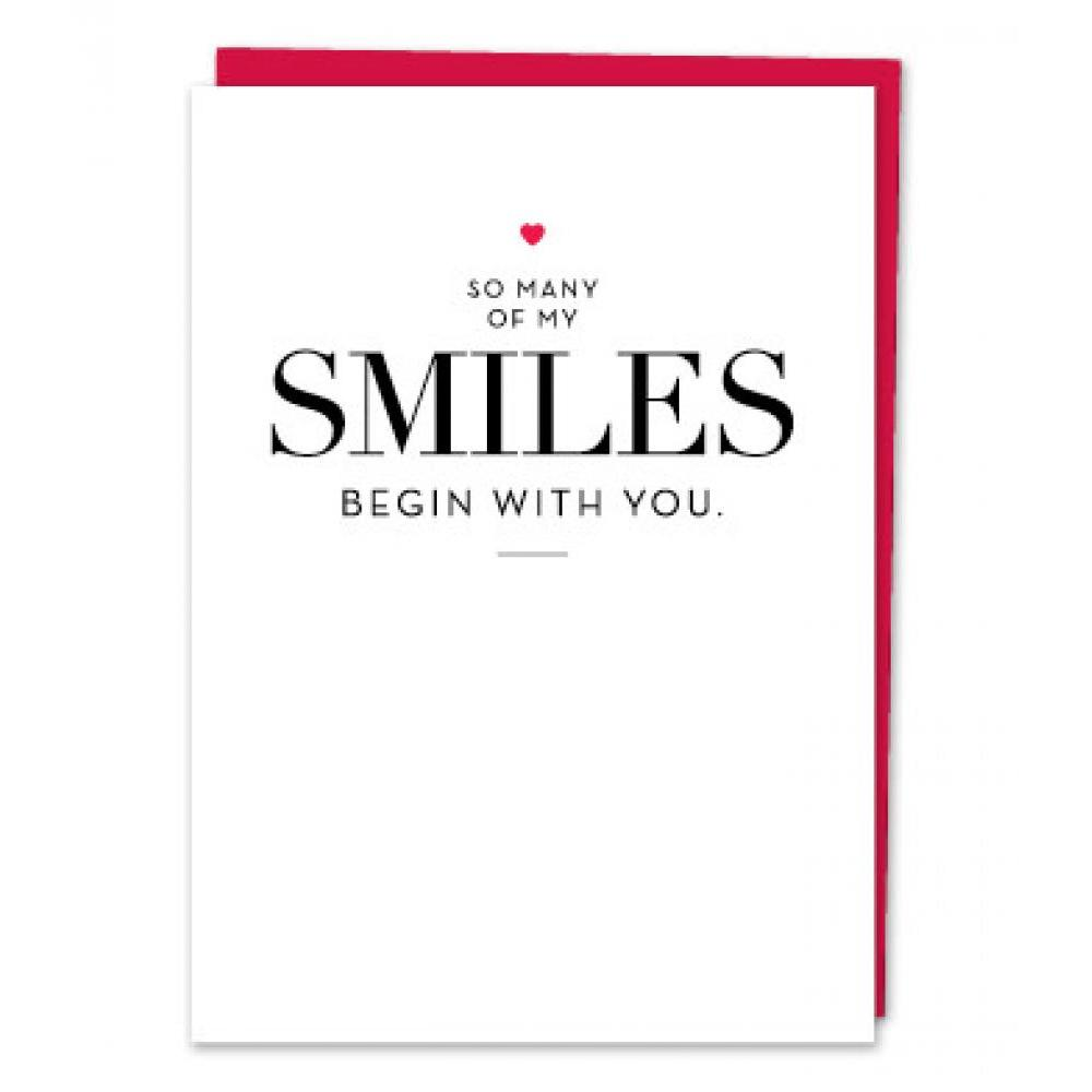 Any Occasion - So Many Smiles Begin With You