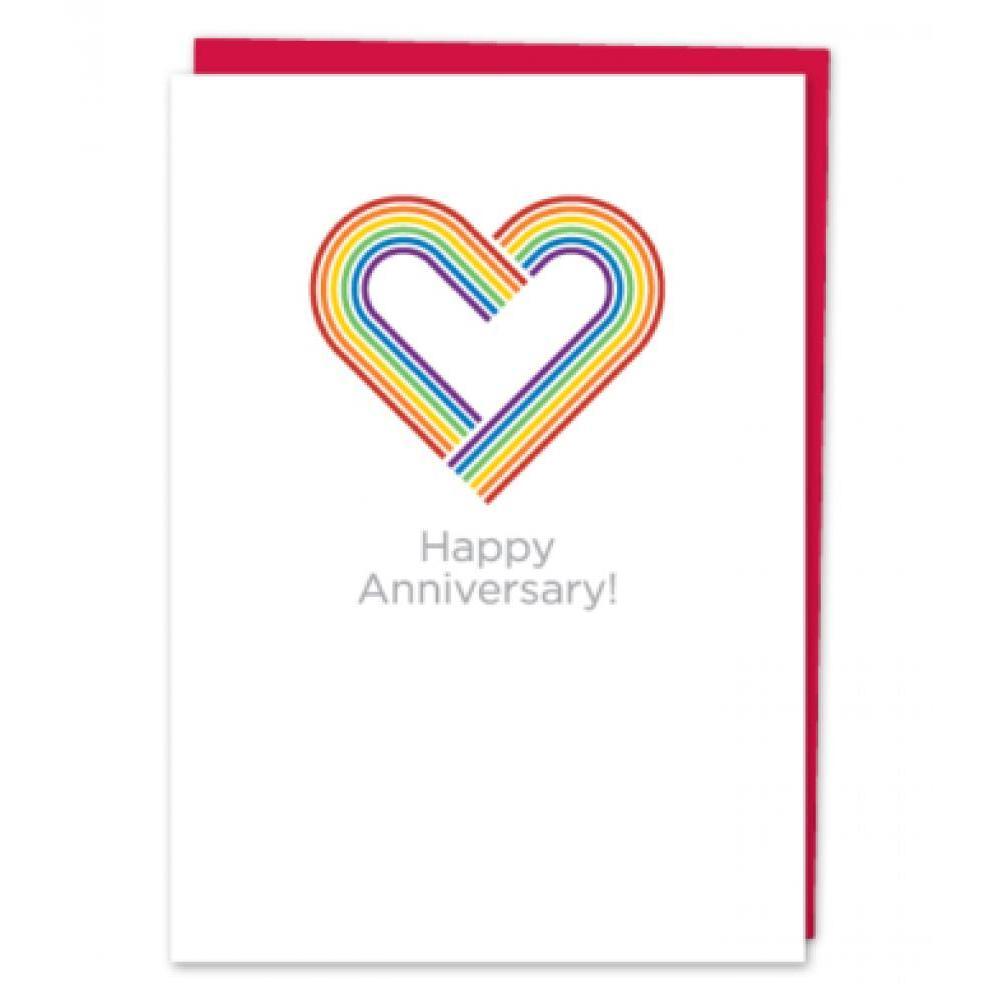 Anniversary - Rainbow Hearts