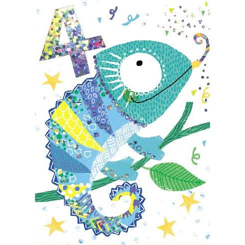 Birthday  - Age - 4th Chameleon