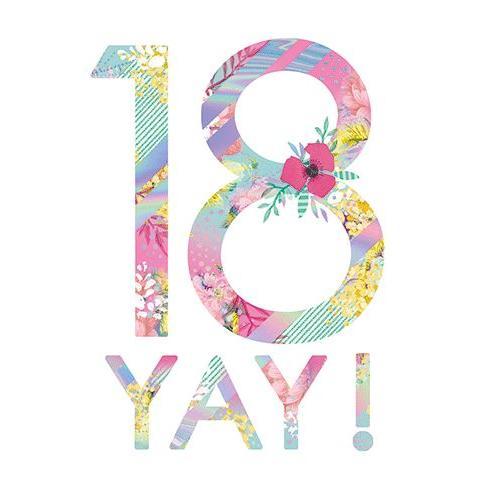Birthday  - Age - 18th Yay!