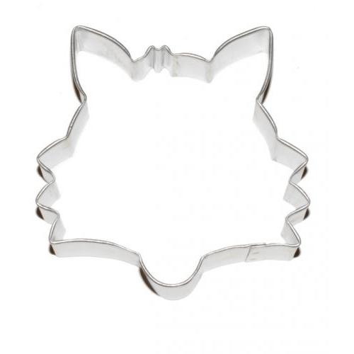 Cookie Cutter Animal Head Fox 3.5inch
