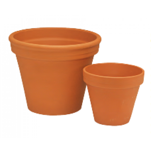 Flower Planter Pot Terracotta Standard German 01.75inch