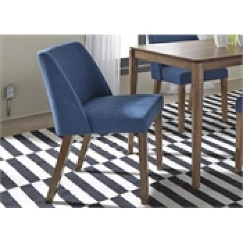 Spacesaver Group Nido Dining Or Accent Chair Blue