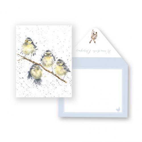 Enclosure Card - Hanging Out Birds