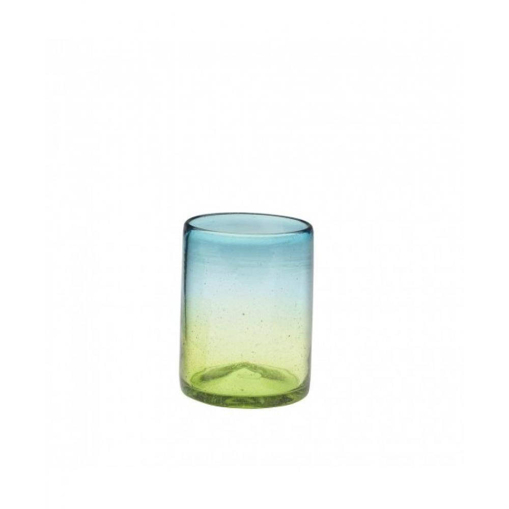 Drinkware Glass Sonora Blue-green Tumbler 12oz Dof