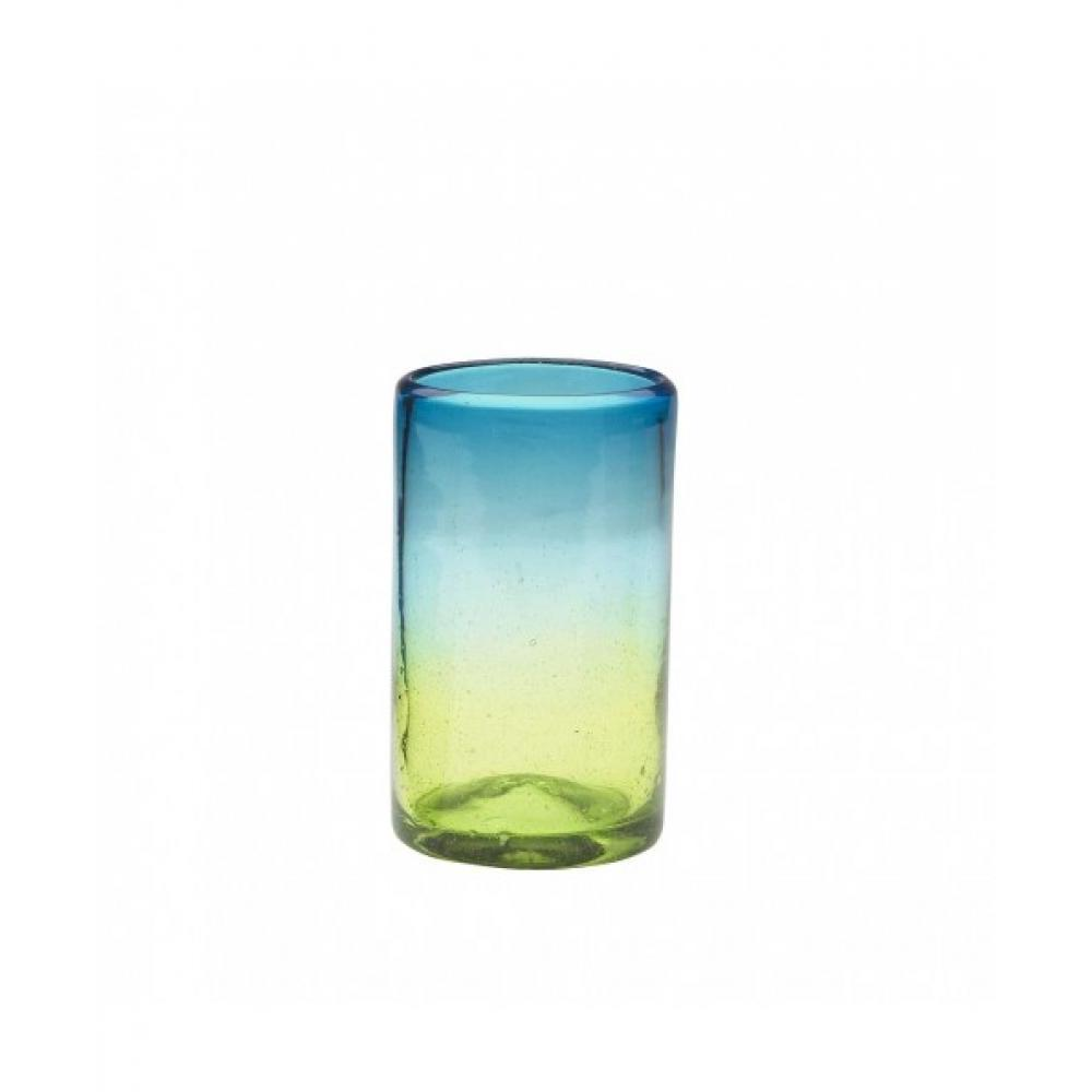 Drinkware Glass Sonora Blue-green Tumbler 16oz Hiball