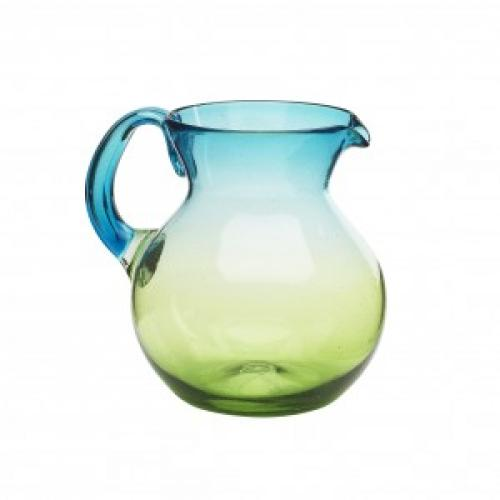 Drinkware Glass Sonora Blue-green Pitcher 80oz