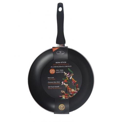 Cookware Fry Pan Skillet Non-stick Black 08in
