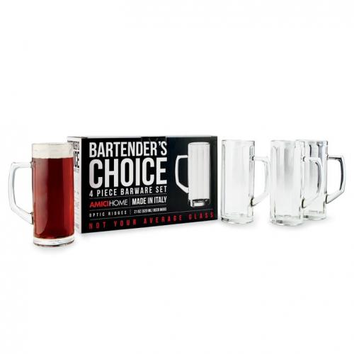 Drinkware Glass \'bartender\'s Choice\' Beer Mug 21oz Box Of 4 (7.99 Ea)