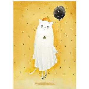 Halloween - Ghost Cat - Lollygag