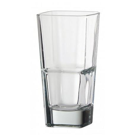 Drinkware Glass Palladio Quadro Stacking Tumbler 14oz Hiball Box Of 4 (4.99ea)