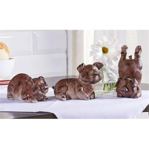 Pig Figurine 3 Assorted (discontinued)