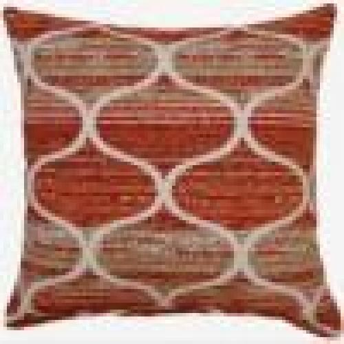 Amsterdam Coral Floor Pillow 22in X 22in