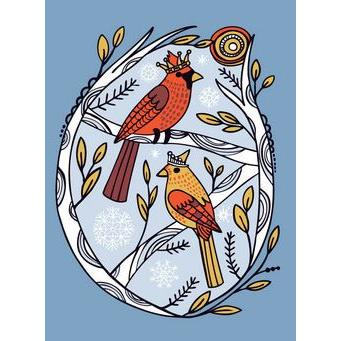 Christmas Card - Royal Winter Cardinal