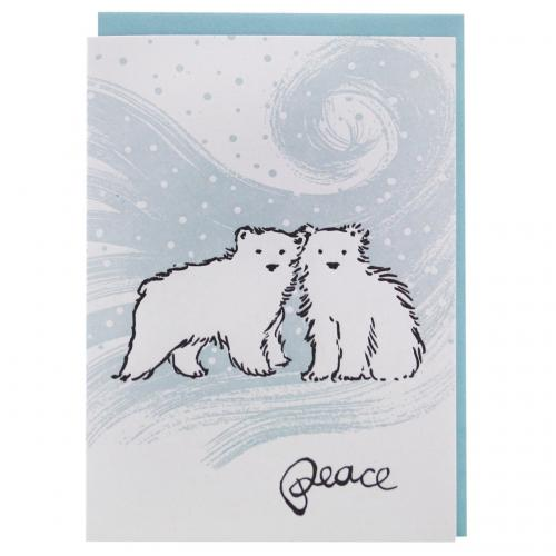 Boxed Cards - Christmas - Polar Bear Cubs