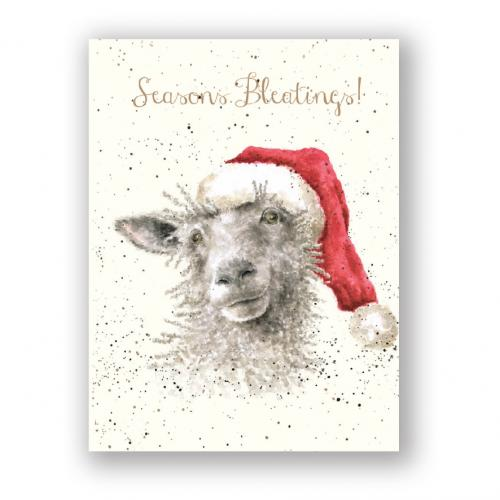 Boxed Card - Season\'s Bleatings