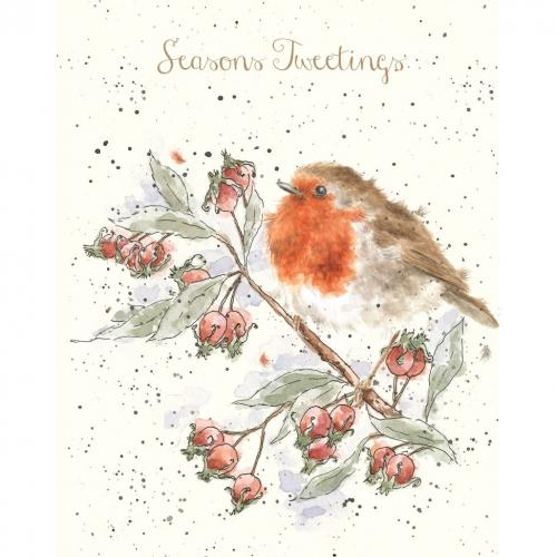 Christmas Card - Season\'s Tweetings