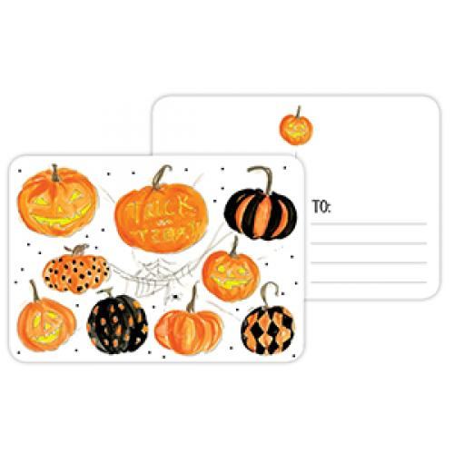 Post Cards - Halloween - Trick Or Treat Pumpkins