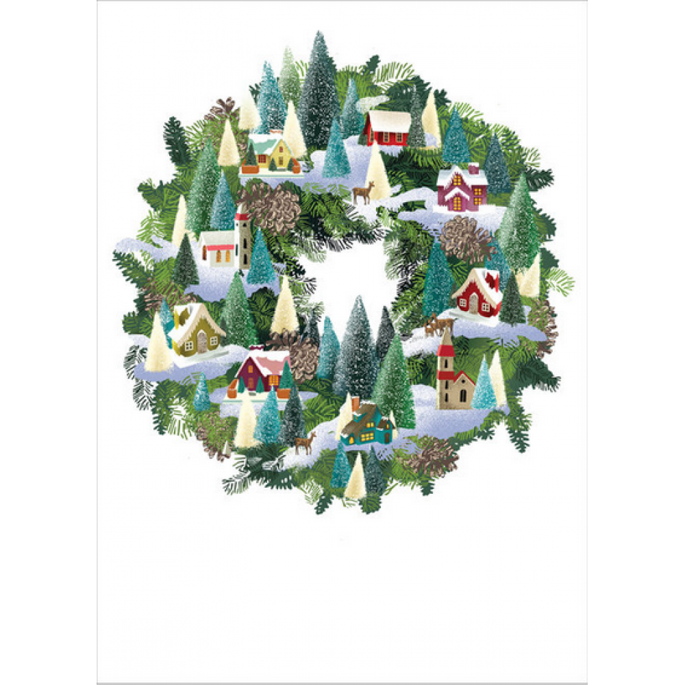 Boxed Cards - Christmas - Wreath