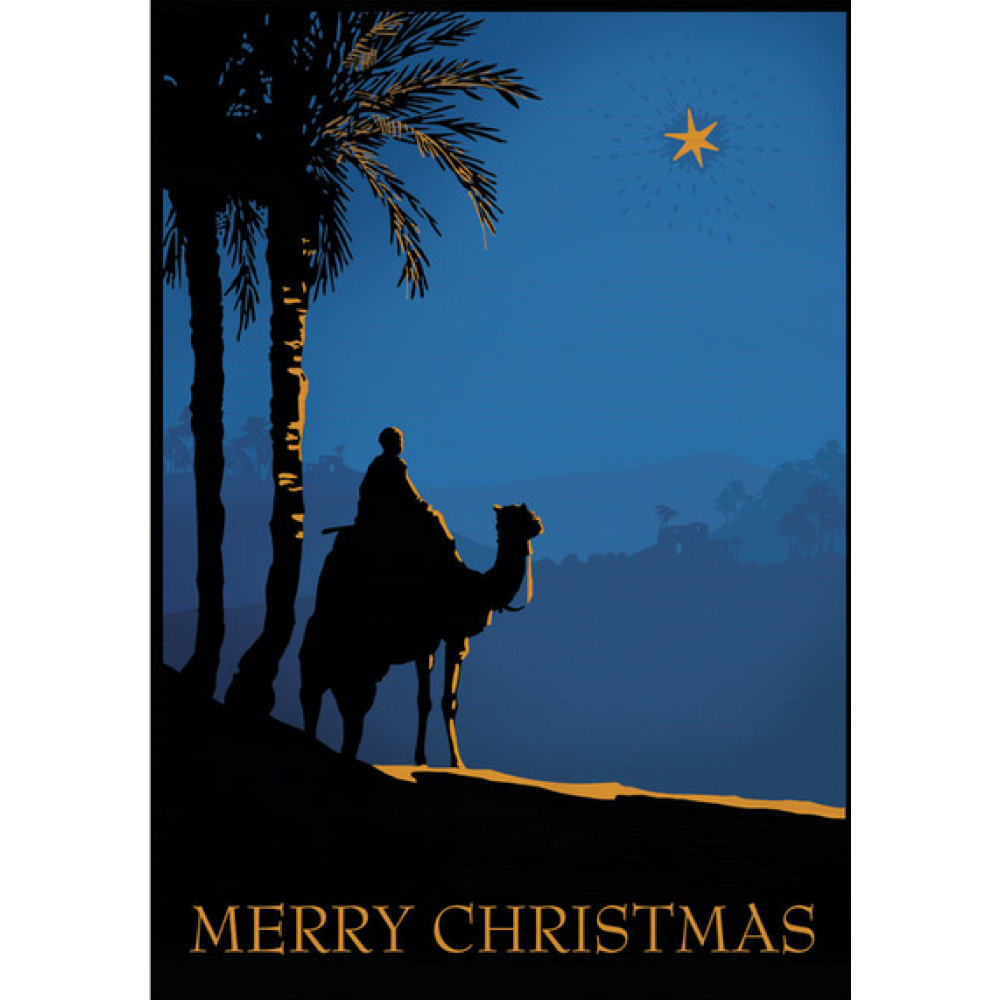 Christmas - Camel With Star