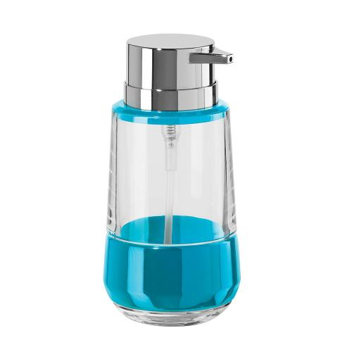 Band Acrylic Soap/lotion Dispenser 11oz Blue