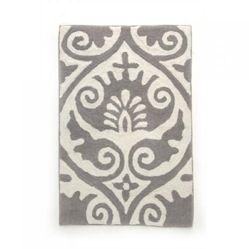 Bath Mat Pasiley - Dark Grey