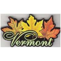 Magnet Artwood  Vermont Maple Leaf