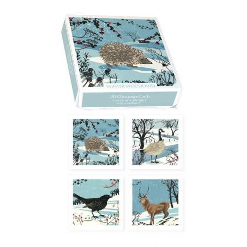 Boxed Cards - Christmas - Museums And Galleries - Woodland