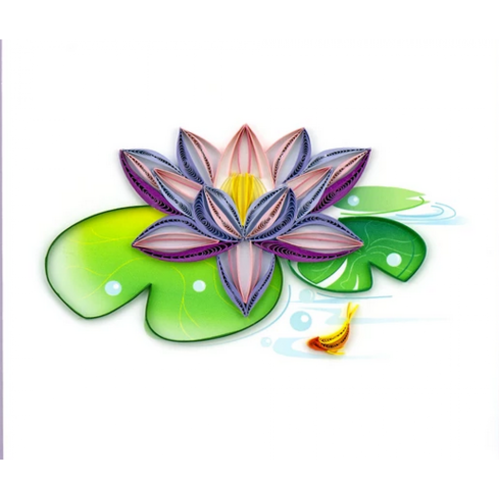 Any Occasion - Quilling Card - Water Lily
