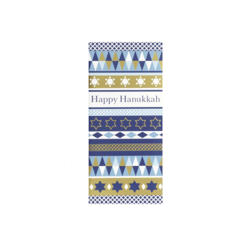 Hanukkah - Rows Of Symbols Card