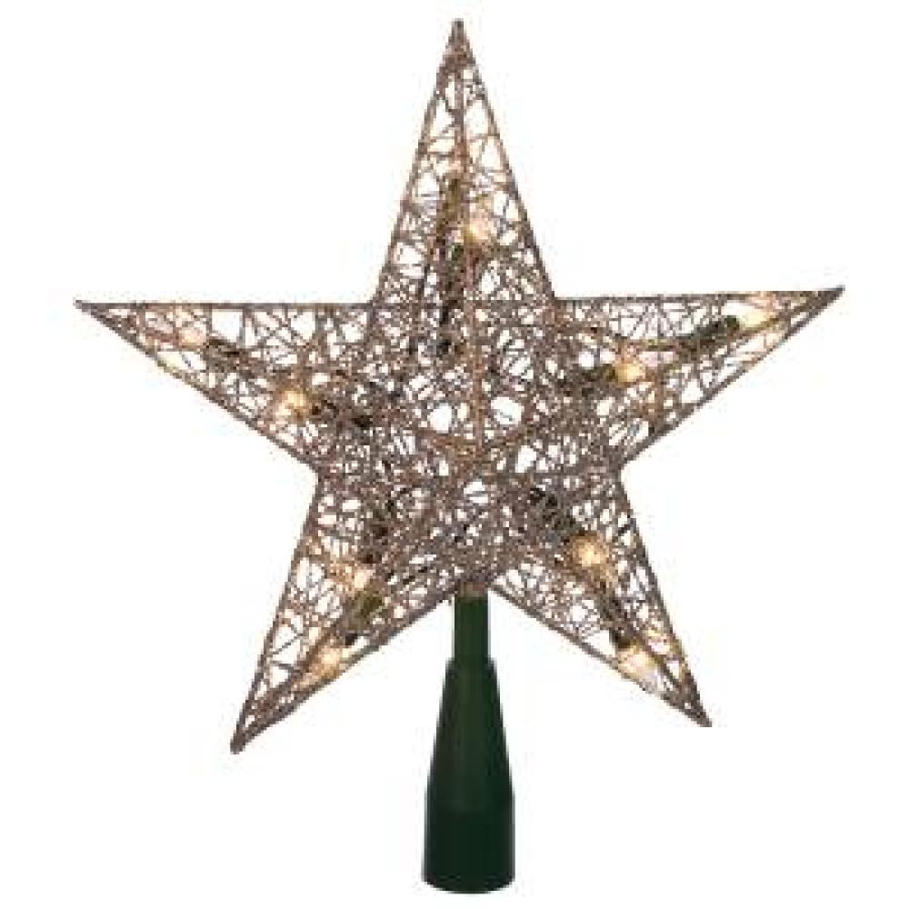 Tree Topper Silver Wire 9inch
