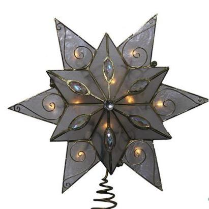 Tree Topper Double Capiz