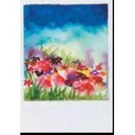 Vermont Artist - Hillside Flowers